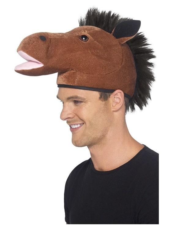 Horse Hat Brown