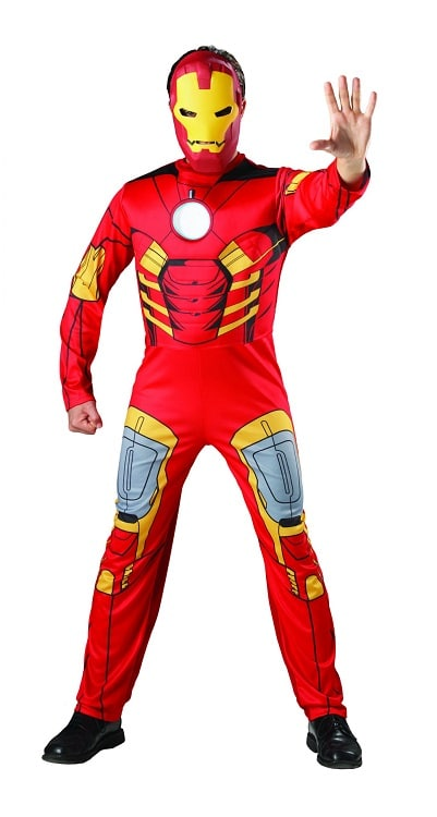 Mens Ironman Costume