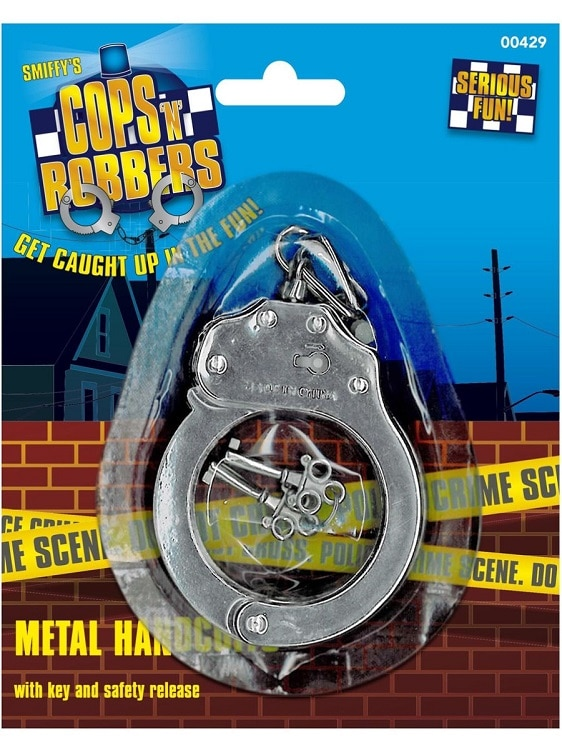 Metal Handcuffs With Key
