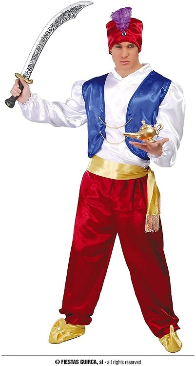 Prince Aladdin Arabian Costume Medium