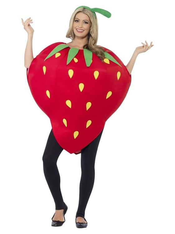 Strawberry Costume One Size