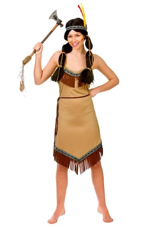 Womens Indian Squaw Costume Medium