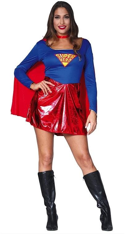 Womens Super girl Super hero Costume Small