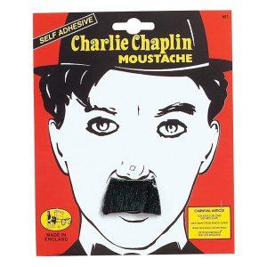 1920s Charlie Chaplin Black Moustache