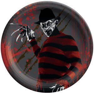 A Nightmare on Elm Street Paper Plates 18cm PKG 8
