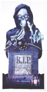 Halloween RIP Door Cover Decoration Multi-Colour, One Size