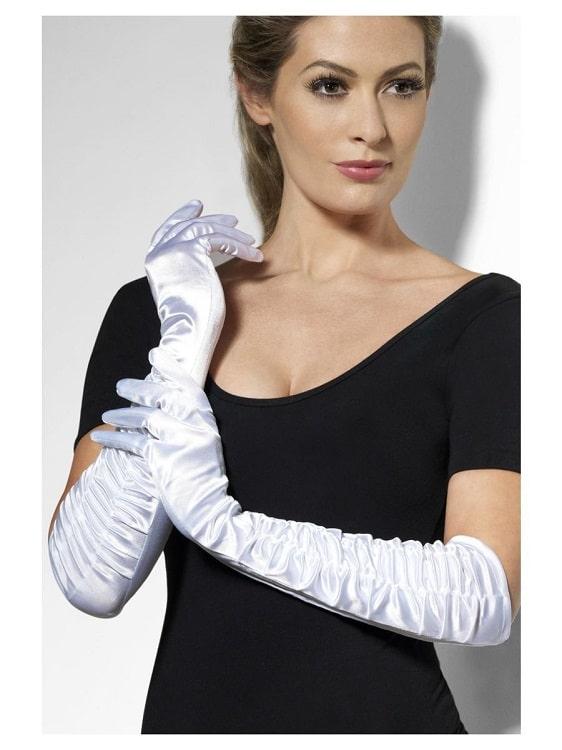 Temptress Gloves White